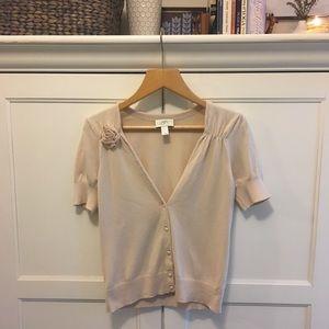 Loft short sleeve vintage styled cardigan S